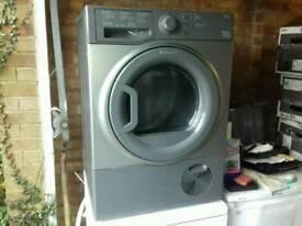 Hotpoint 8kg condenser dryer free nn delivery 3 months warranty