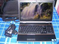 dell laptop latitude e6520 intel i7 8gb memory 500gb harddrive good condition