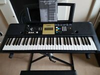 Yamaha Digital Keyboard, with stand and stool