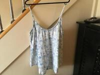Size 8 cami top