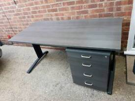 Office Home Desk with Drawers
