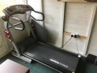 Treadmill and free spin bike