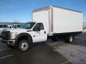 2013 Ford F-550 CHASSIS CAB XL Diesel 16 Foot Multivan Cube