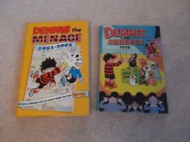 Dennis the Menace Annuals - set of 27 for £40.50