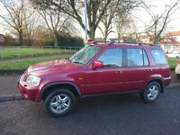 HONDA CRV - RED, LOW MILEAGE. GREAT RELIABLE BUY