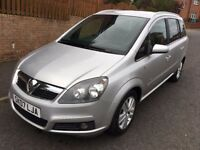 VAUXHALL ZAFIRA 1.8 DESIGN ** 07 PLATE ** 40,000 MILES FROM NEW **
