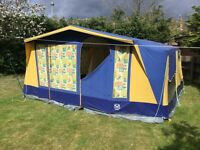 Grange frame tent 6 berth.