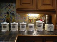 Kitchen Pottery Storage Container Set- reduced price