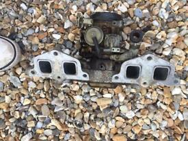 Peugeot 309 inlet manifold and Webber carb