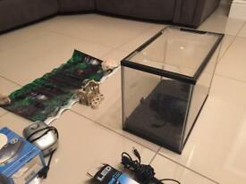 22l Fish tank and accessory's