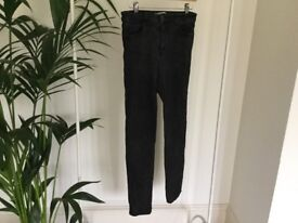 URBAN OUTFITTERS Light Before Dark Black Jeans
