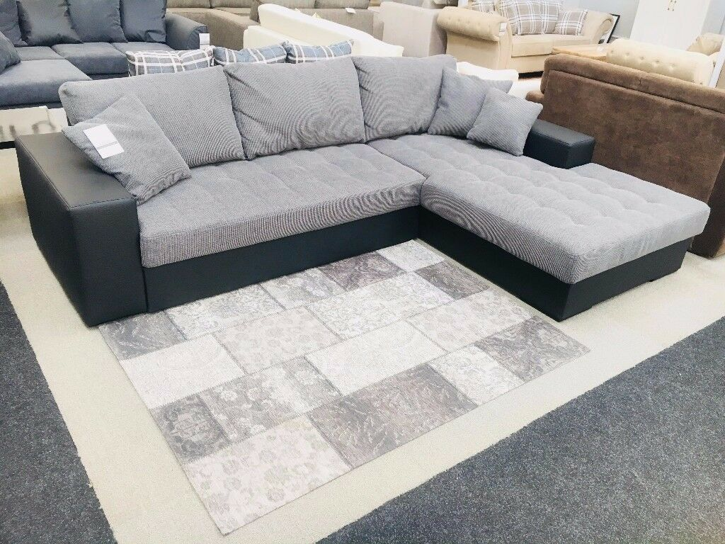 Great Comfortable Corner Sofa Bed For Sale With Storage