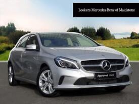 Mercedes-Benz A Class A 180 D SPORT PREMIUM (silver) 2017-10-31