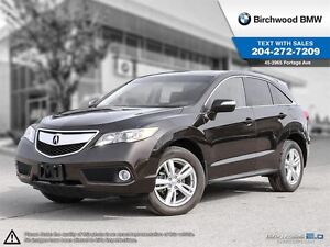 2014 Acura RDX AWD 4dr Local One Owner!