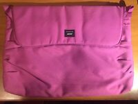 Crumpler brand laptop carrier - Pink