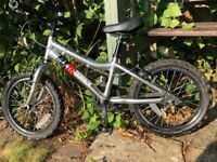 Ridgeback MX16 Children's Bike, Chrome, in good condition