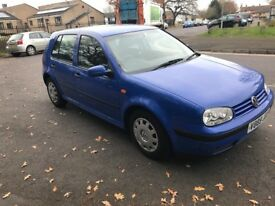 Volkswagen Golf, 1.4 Petrol, 12 months MOT, nice and tidy!