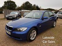 BMW 3 Series 4 Door Saloon, 2.0 Petrol / 6 Speed Manual, Full Service History, Warranty Included.