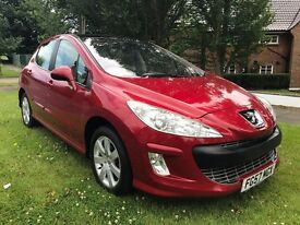 Peugeot 308 SE 1.6 HDI 110 BHP PANORAMIC ROOF, FULL MAIN DEALER SERVICE HISTORY, EXCELLENT CONDITION