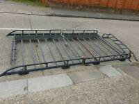 Vauxhall Vivaro lwb roof rack with ladder