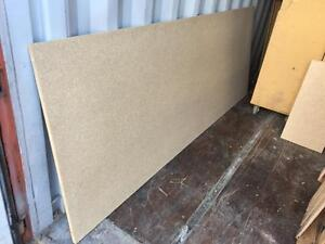 Particle board pieces, 0.75 x 36 x 96