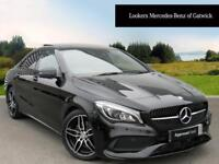 Mercedes-Benz CLA CLA 220 D AMG LINE (black) 2016-09-01