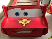 Disney Cars Lightning McQueen Toddler Bed with underbed storage