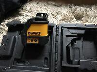 Crossline Dewalt Laser Level DW088