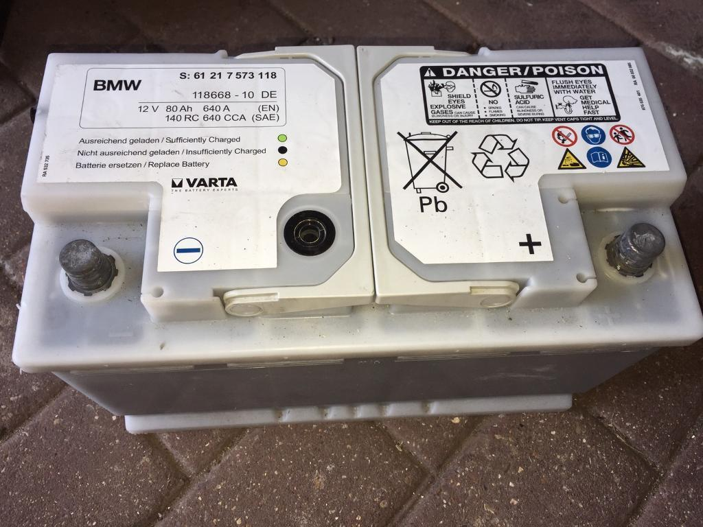 Varta Car Battery 12v 80ah 640a In Coventry West