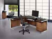 BDI Sequel Natural Walnut Office Set ( I paid over £2000) for £299 only (perfect condition)