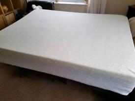 As new!! kingsize very thick foam/memory foam mattress