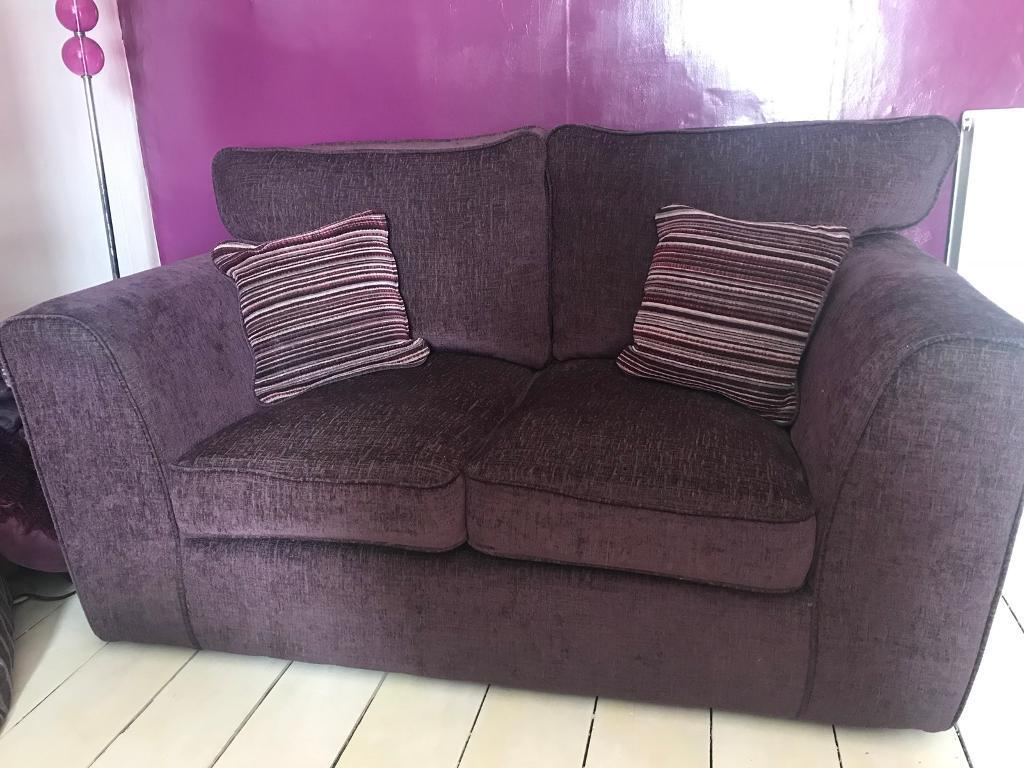 Plum Sofa Like New For