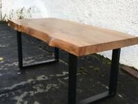 Solid Elm Coffee Table