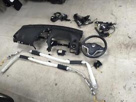 2013 Vauxhall antara airbag kit complete