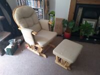 Rocking / gliding chair FREE to collector