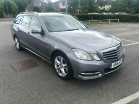 2011 11reg Mercedes Benz E250 Avantgarde Estate Grey Automatic
