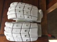 NEW - Adult leather cricket gloves LEFT HANDED. 🏏+ free inners and bat grip