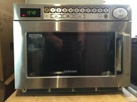 Samsung CM1029 1000w Microwave Commercial Stainless Steel