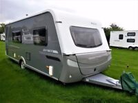 2007 Hymer Nova 570 GS (UK Specification) 3 Berth Touring Caravan