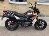 2017 KEEWAY TX125SM Orange IMMACULATE Condition