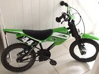 Green Motorcross Bike
