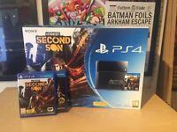 500gb PS4 + 2 games