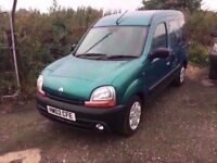 2002 RENAULT KANGOO MPV LOADS SERVICE HISTORY VERY CLEAN DRIVES LIKE NEW LONG MOT ANYTRIAL WELCOME
