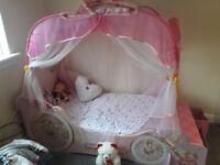 Princess Disney Bed