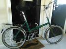 Vintage Triumph Fold Up Bike