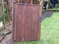 Solid wooden gate, vgc