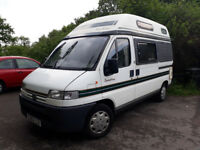 Autosleeper Symphony Peugeot Boxer 2 berth motorhome/campervan 1998 (S-Reg) with 12 months MOT