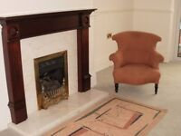Victorian fire side chair (SOLD) pending collection