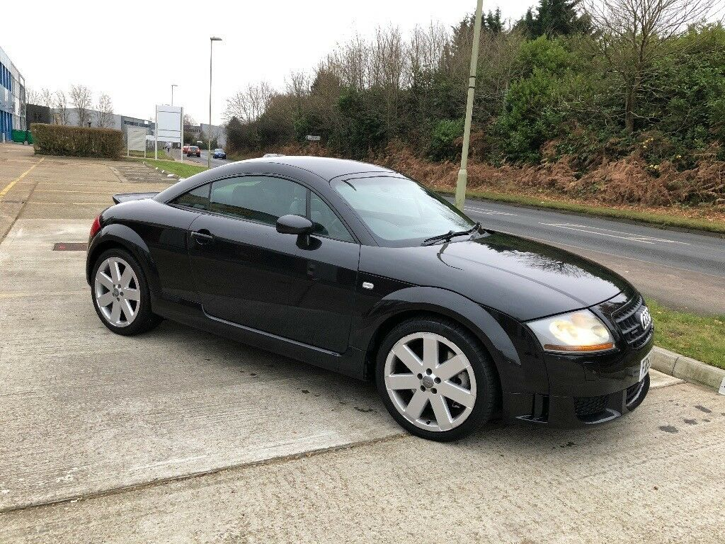 2003 audi tt 3 2 v6 quattro black 72000 miles lots spent in farnborough hampshire gumtree. Black Bedroom Furniture Sets. Home Design Ideas