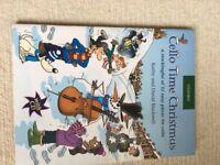 Music books for cello